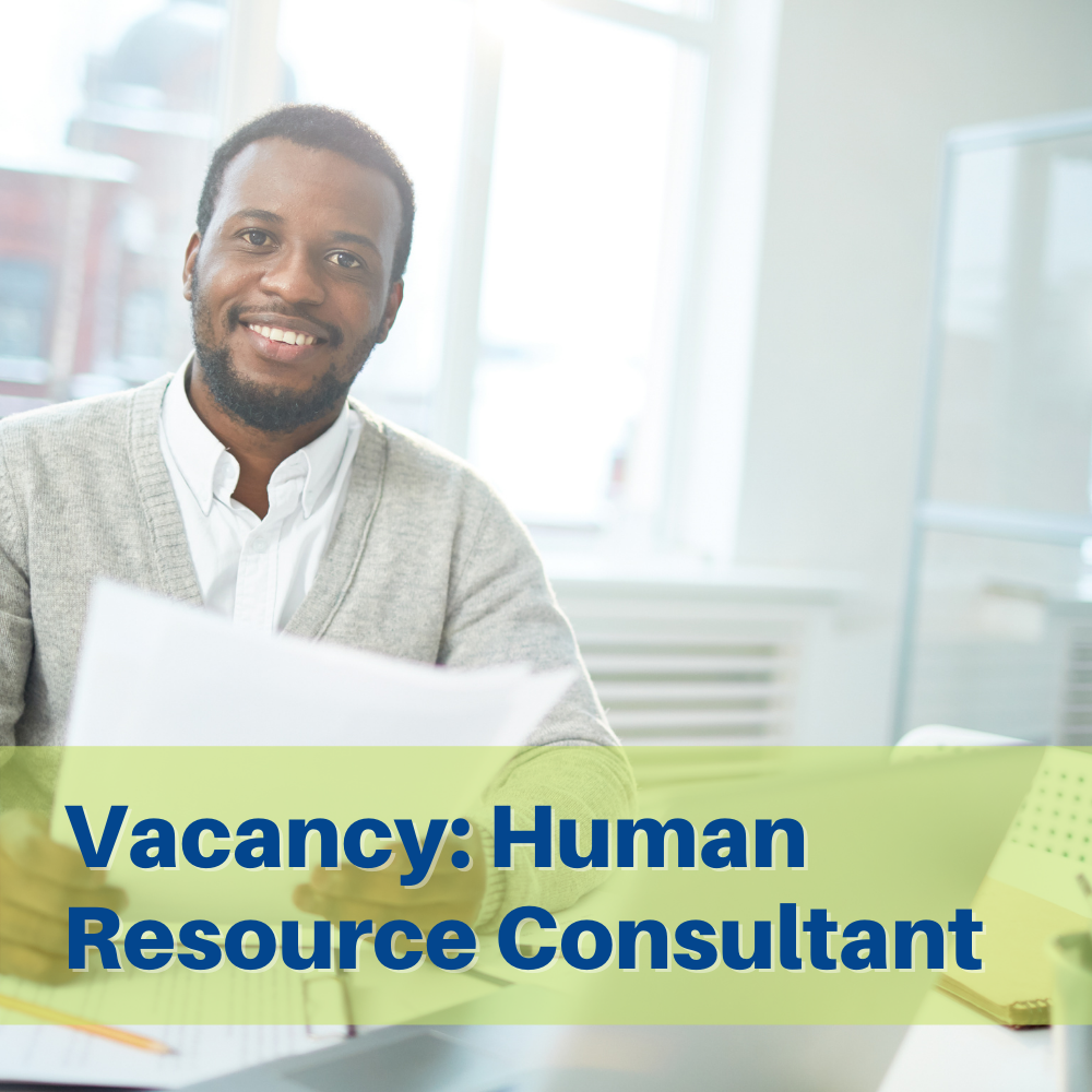 Employment Opportunity: Human Resources Consultant